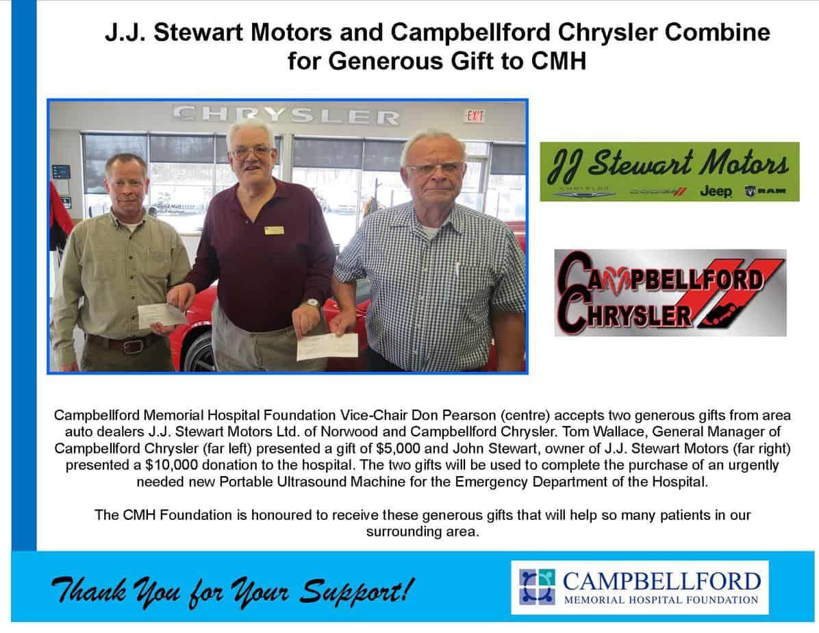 JJ Stewart & Campbellford Chrysler 2017