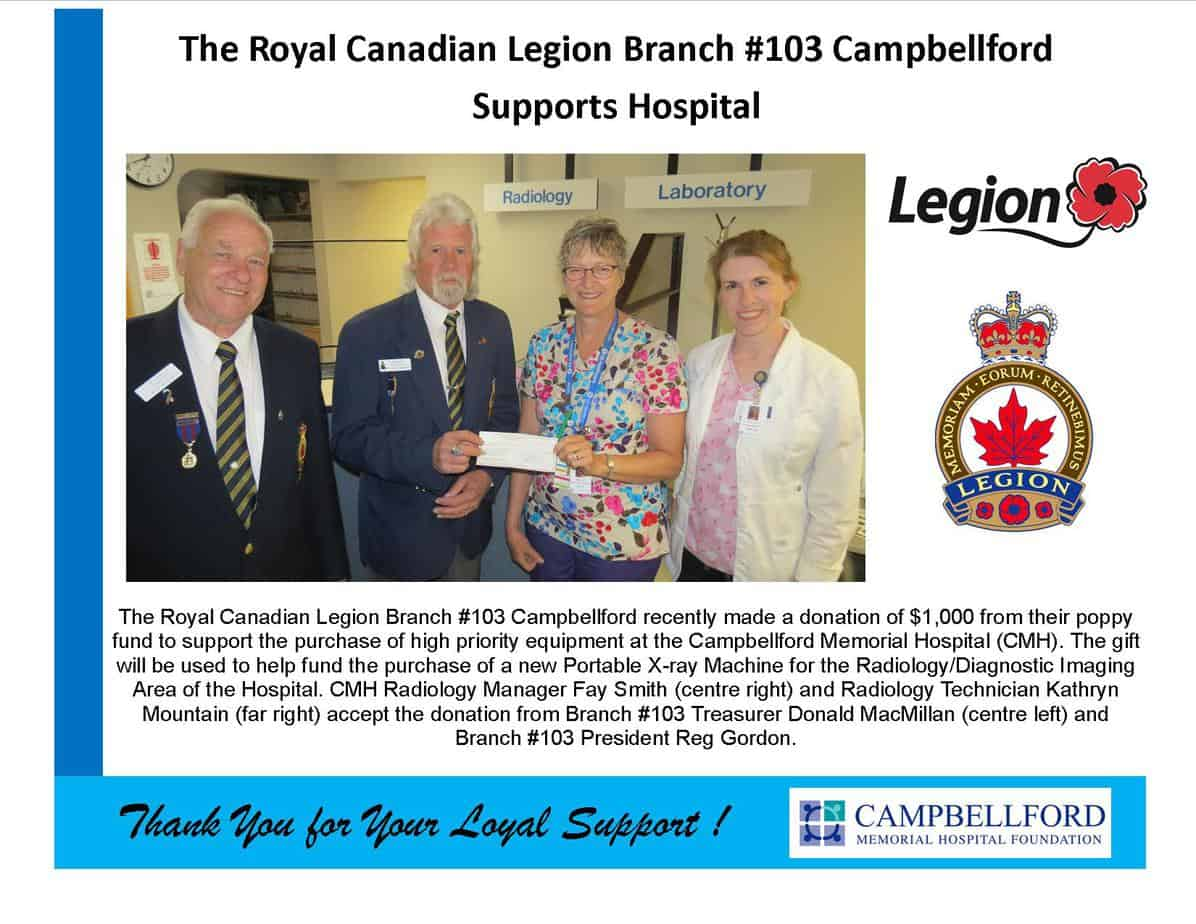 Legion Branch #103 2017
